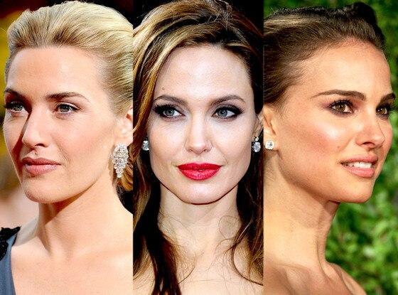 Kate Winslet, Natalie Portman, Angelina Jolie, Oscars 2011