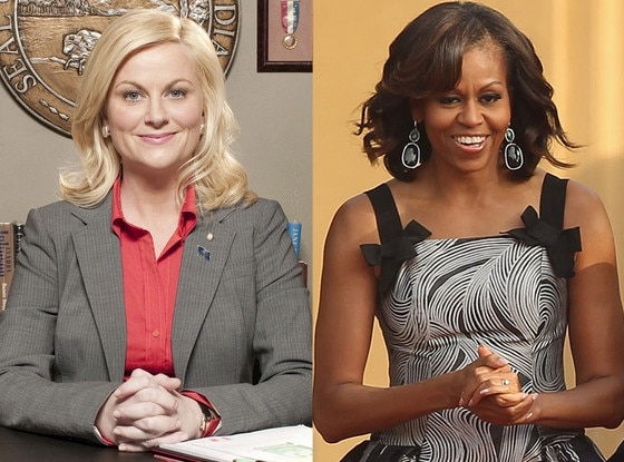 Amy Poehler, Parks and Recreation, Michelle Obama