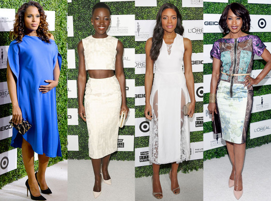 Kerry Washington, Lupita Nyong'o, Naomie Harris, Angela Bassett
