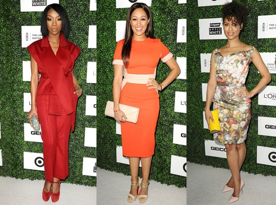 Brandy Norwood, Tamara Mowry, Gugu Mbatha-Raw