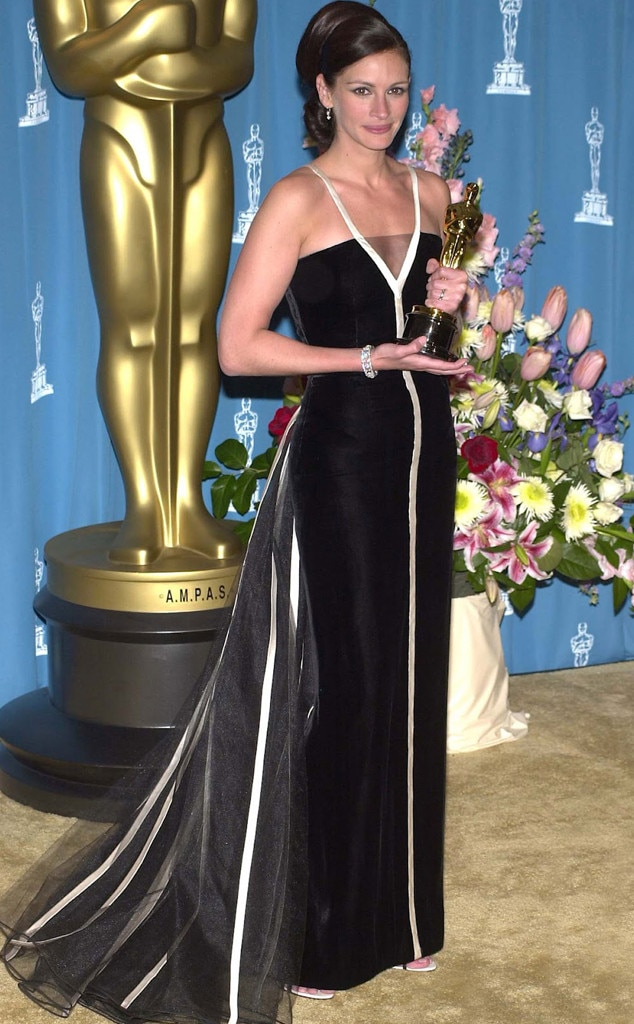 Julia Roberts from 50 Years of Oscar Dresses: Best Actress ...