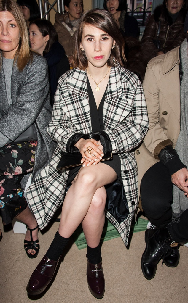 Zosia Mamet, Paris Fashion Week
