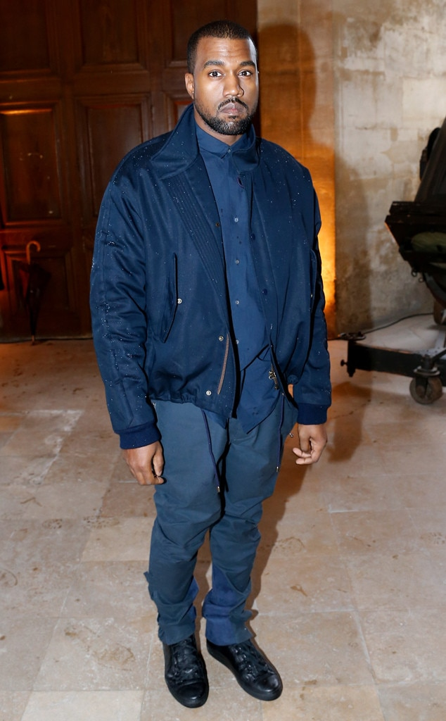 Kanye West, Paris Fashion Week