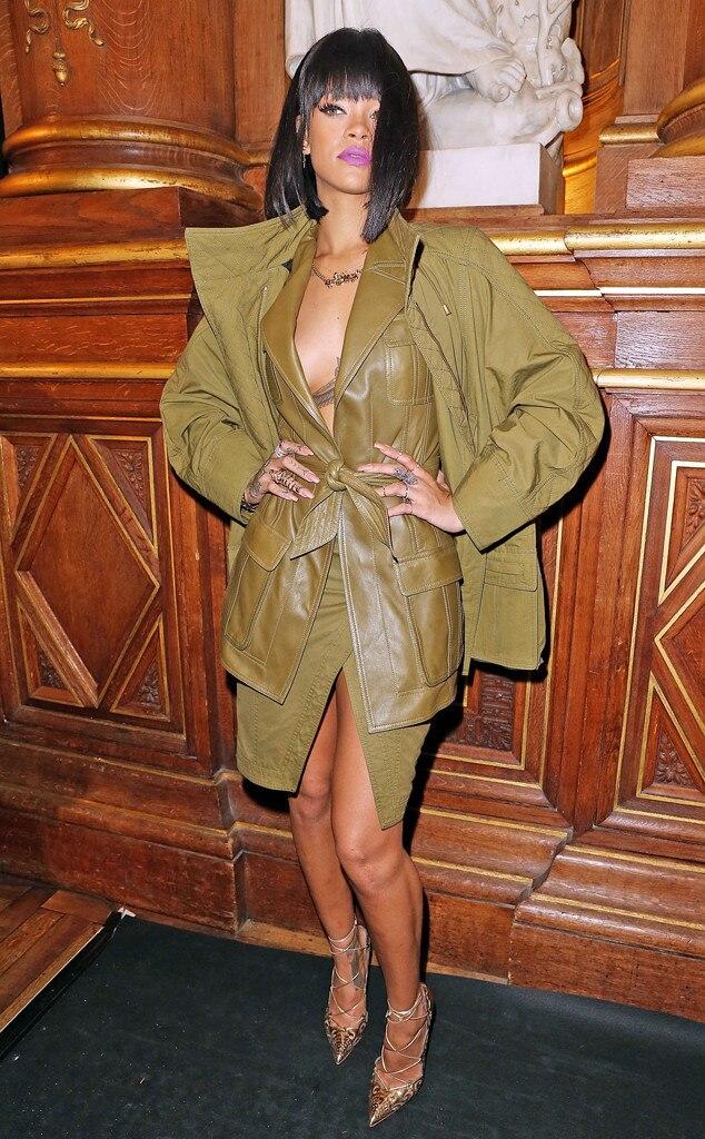 Rihanna, Paris Fashion Week