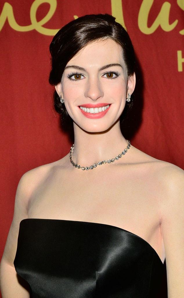 Anne Hathaway, Madame Tussauds Wax Figure