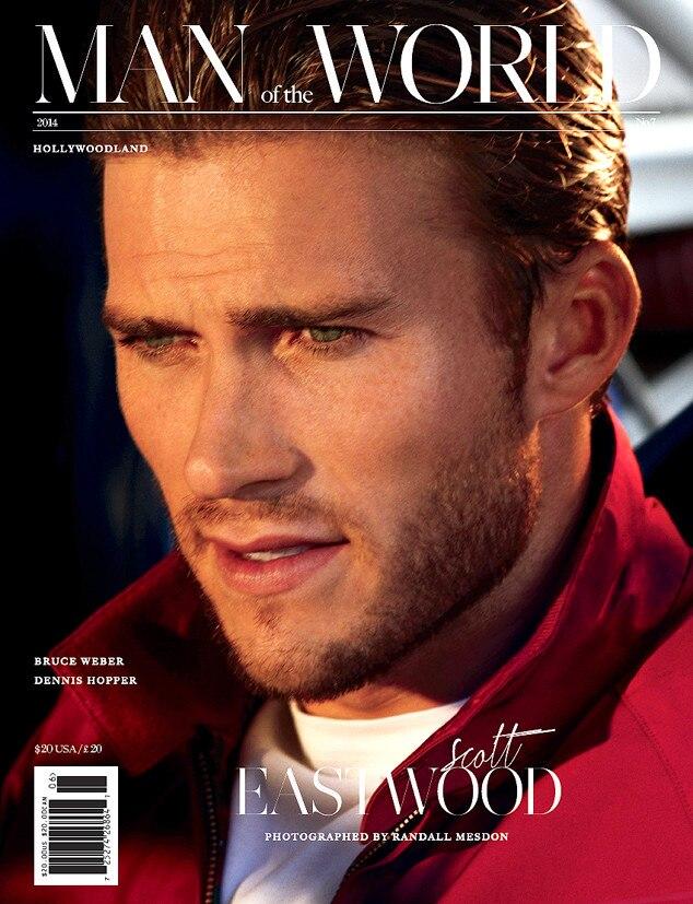 Scott Eastwood, Man of the World Magazine