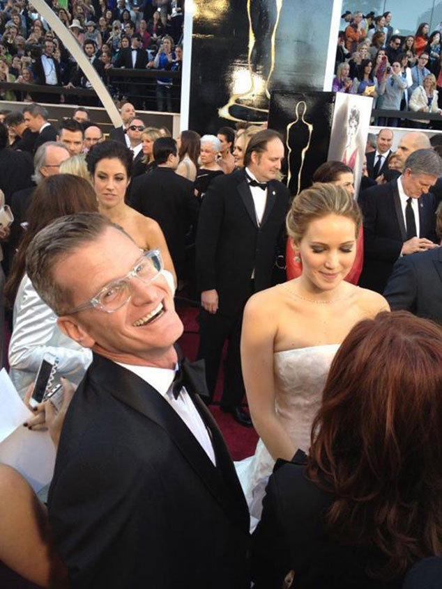 Marc Malkin, Jennifer Lawrence, Oscars