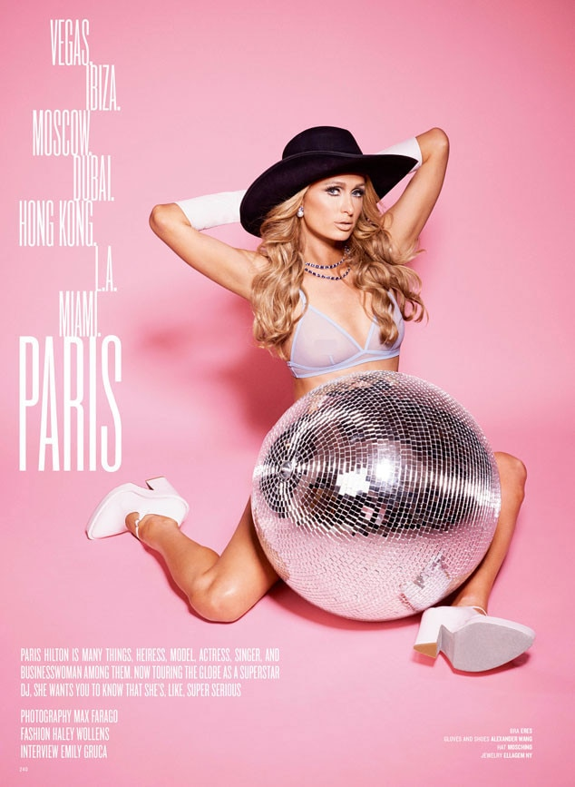 Paris Hilton, V Magazine