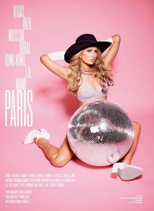 Paris Hilton, V Magazine