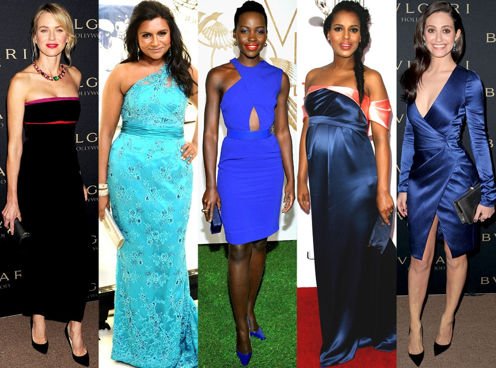 Lupita Nyong'o, Kerry Washington, Mindy Kaling, Emmy Rossum, Naomi Watts, Best Dressed