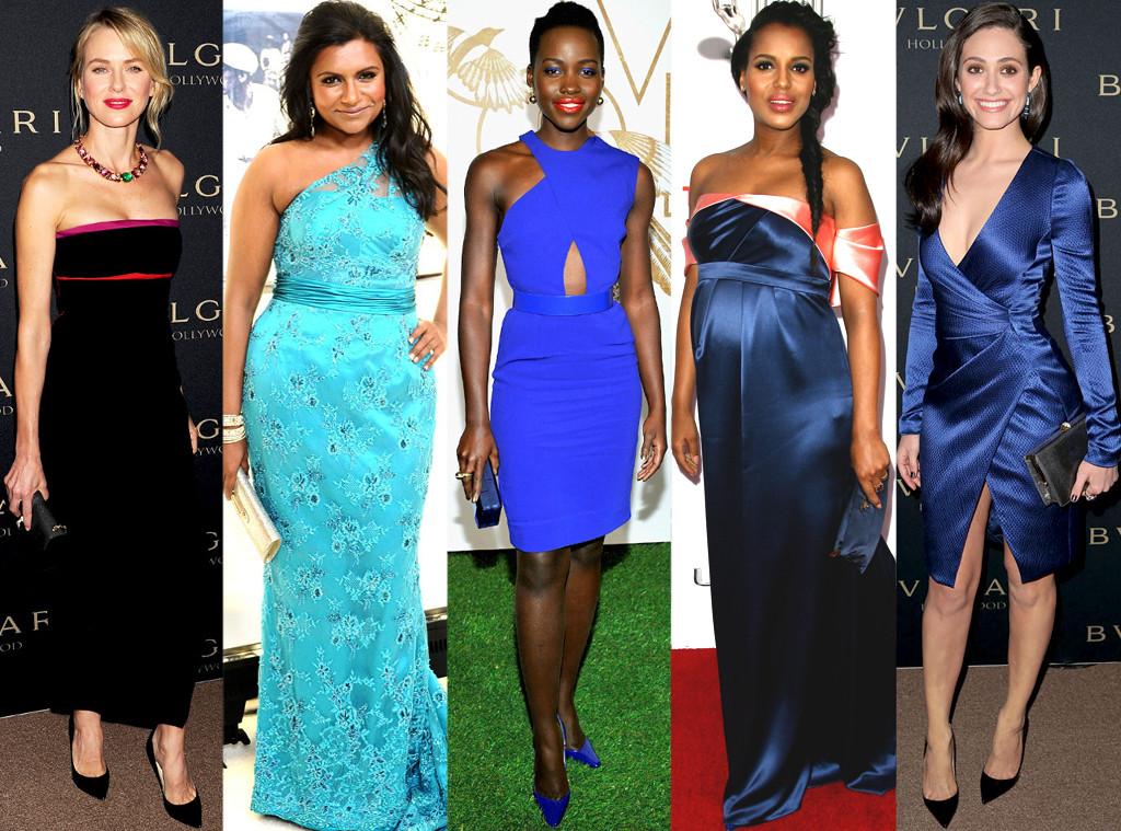 Lupita Nyong'o, Kerry Washington, Mindy Kaling, Emmy Rossum, Naomi Watts, Best Dressed