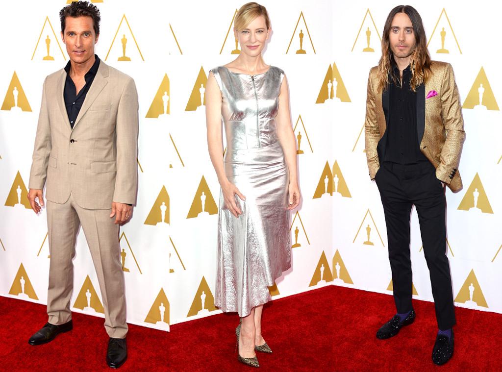 Matthew McConaughey, Cate Blanchett, Jared Leto