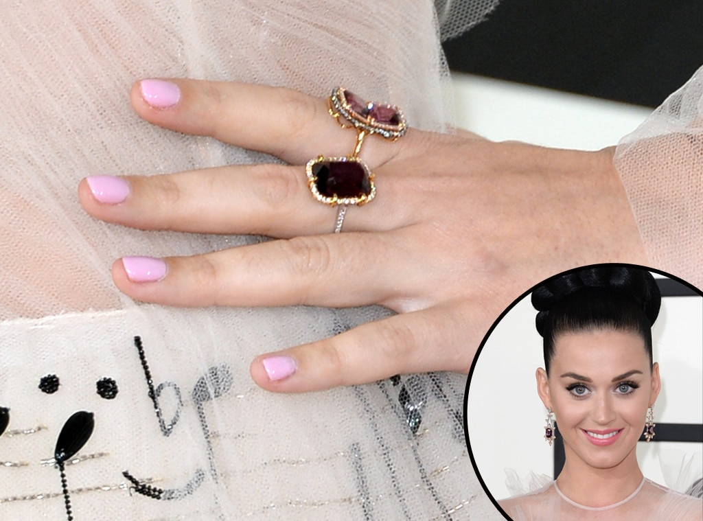 Katy Perry, Grammys, Manicure
