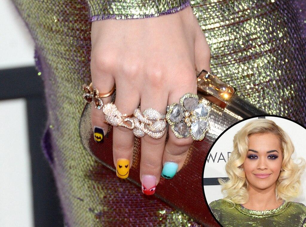Rita Ora, Grammys, Manicure
