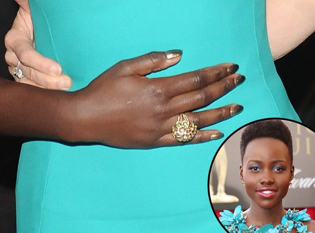 Lupita Nyong'o, SAG, Manicure