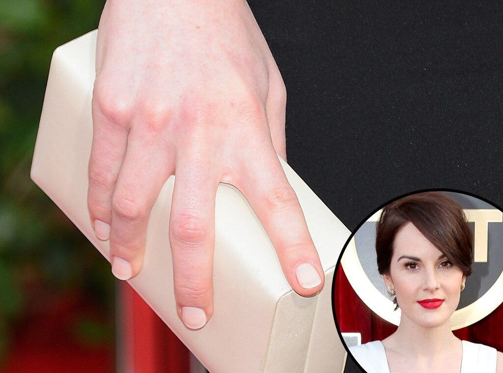 Michelle Dockery, SAG, Manicure
