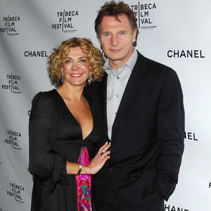 Liam neeson sees cabaret with sons 17 years after late for Liam neeson and natasha richardson movie