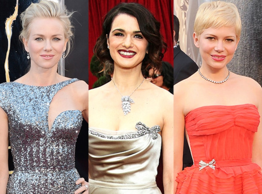 Naomi Watts, Michelle Williams, Rachel Weisz