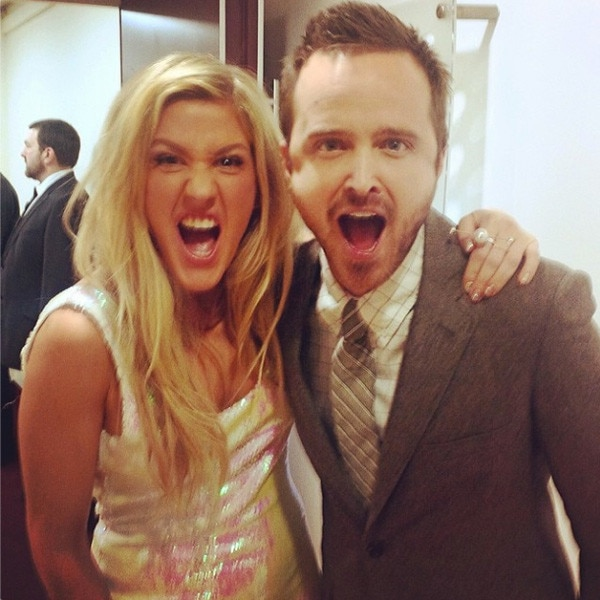Ellie Goulding, Aaron Paul