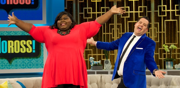 Gabby Sidibe, Ross Mathews, Hello Ross
