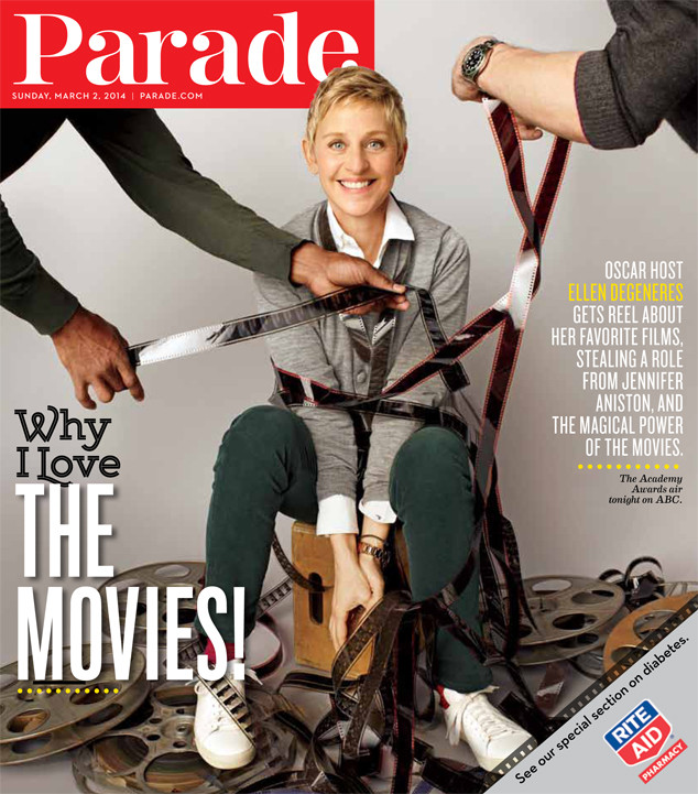 ellen degeneres reveals which movie role she stole from