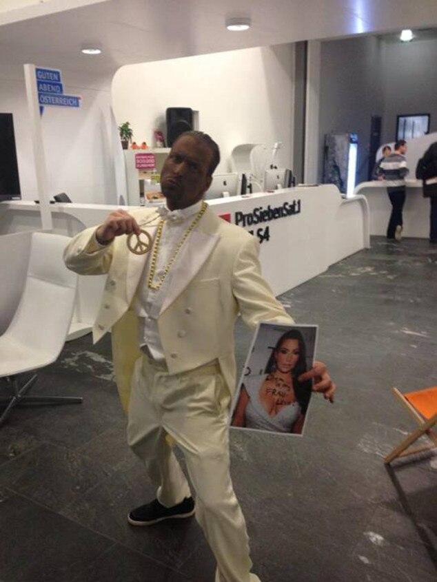 Blackfaced Guy, Kim Kardashian