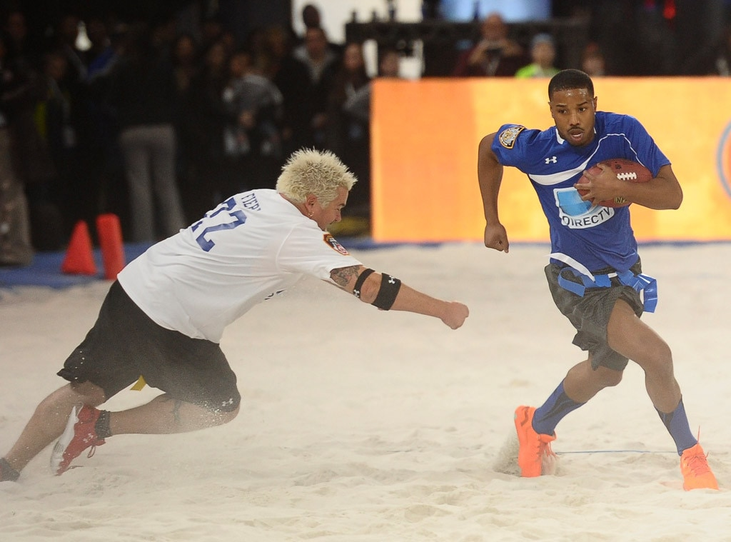 Guy Fieri, Michael B. Jordan, Beach Bowl