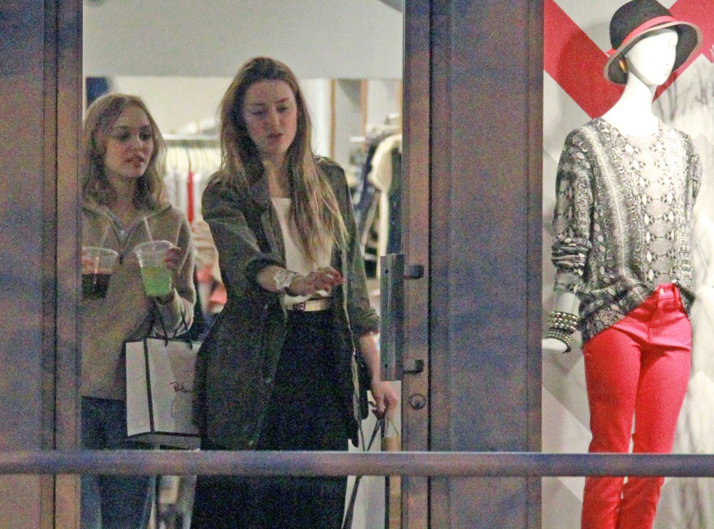 Amber Heard, Lily Rose Melody Depp