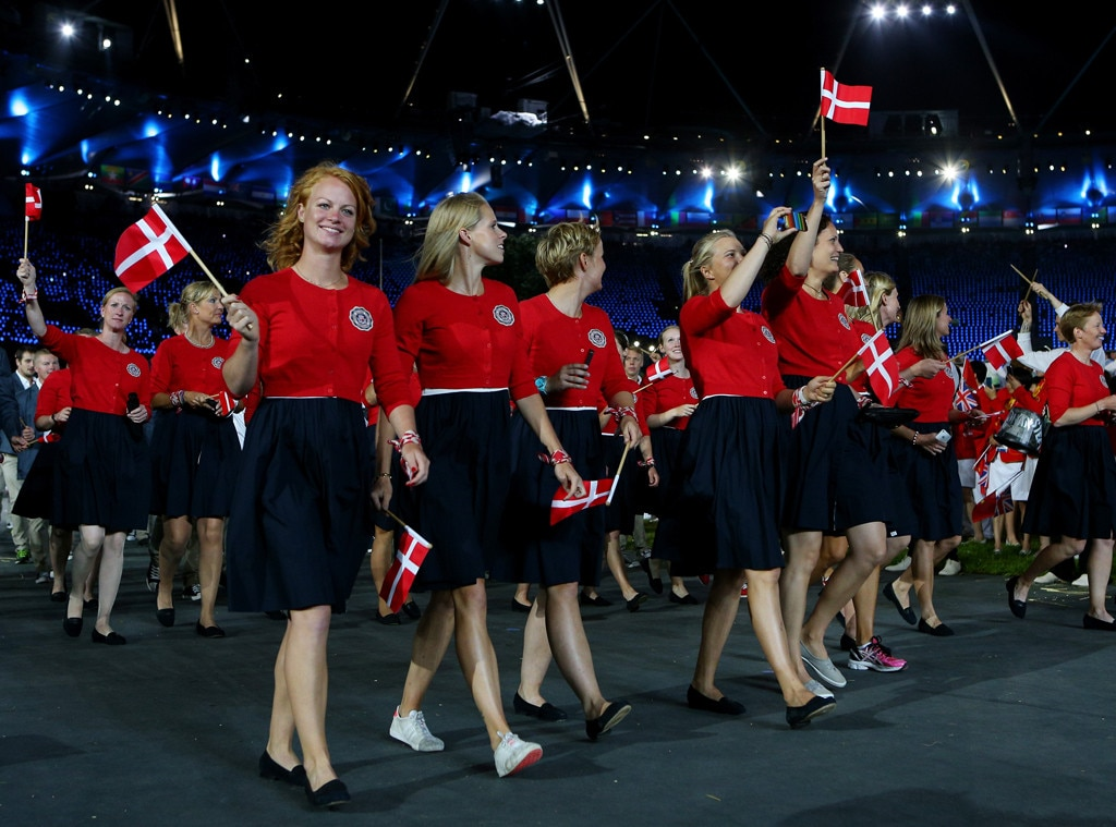 Team Denmark, London Opening Ceremony