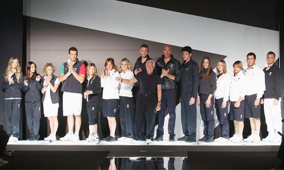 Giorgio Armani, Olympic Uniforms
