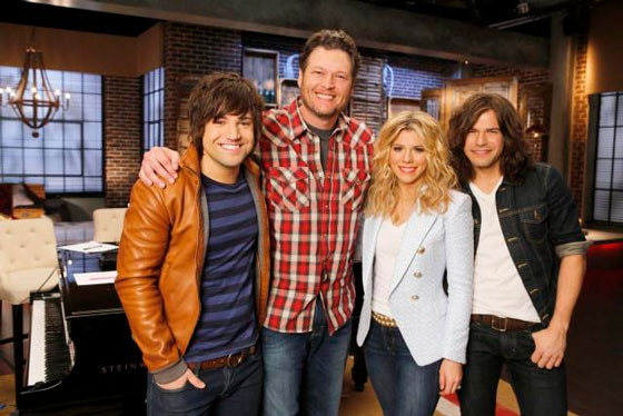The Band Perry, Blake Shelton