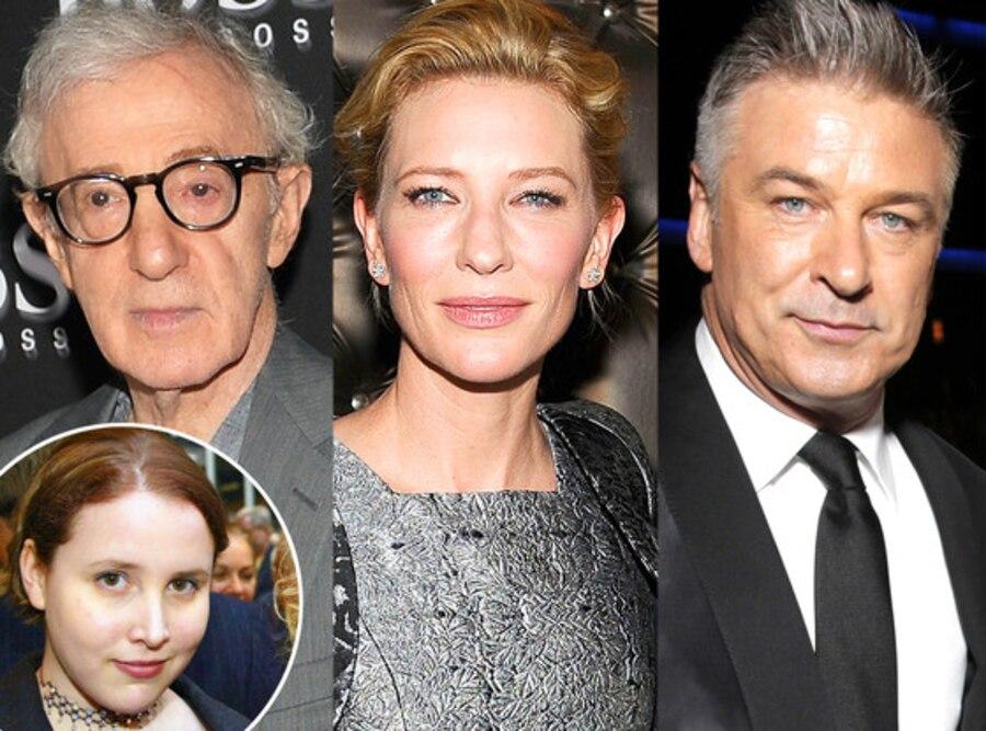 Woody Allen, Cate Blanchett, Alec Baldwin, Dylan Farrow