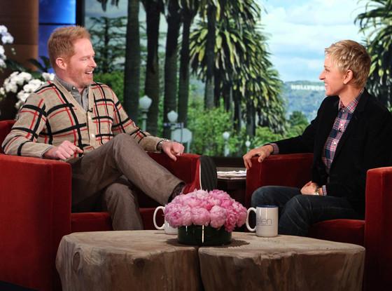 Jesse Tyler Ferguson, Ellen DeGeneres