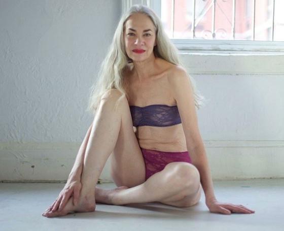 Jacky O'Shaughnessy, American Apparel Model