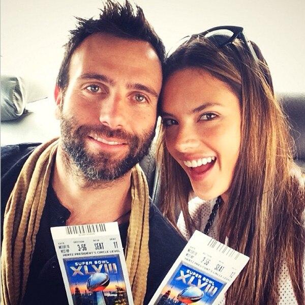 Alessandra Ambrosio, Instagram, Superbowl