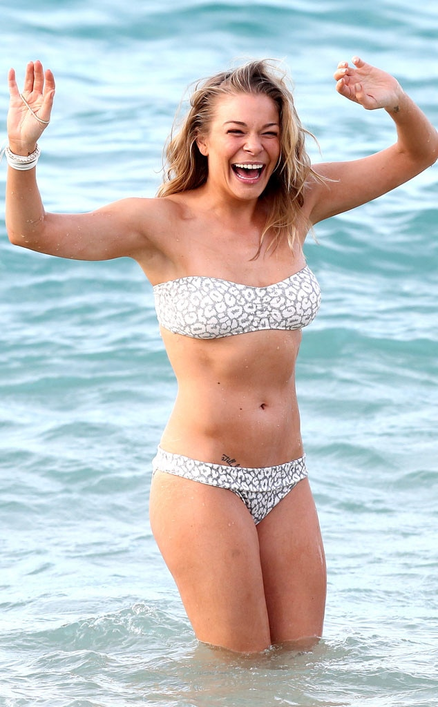 Leann Rimes, Bikini, Hawaii