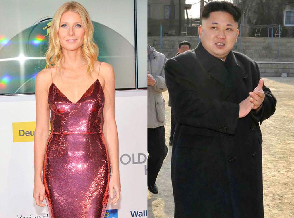 Gwyneth Paltrow, Kim Jong-Un
