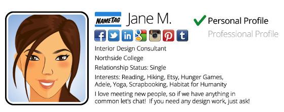 NameTag App