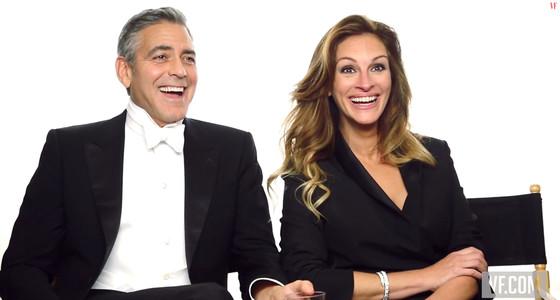 George Clooney, Julia Roberts, Vanity Fair