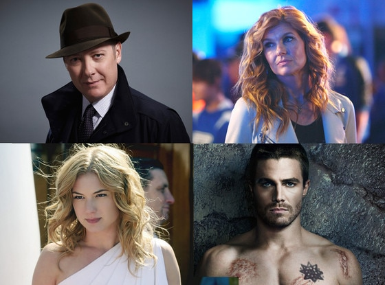 Stephen Amell, Arrow, Connie Britton, Nashville, James Spader, The Blacklist, Emily VanCamp, Revenge