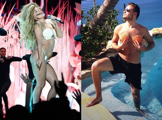 Liam Payne, Lady Gaga, Seashells