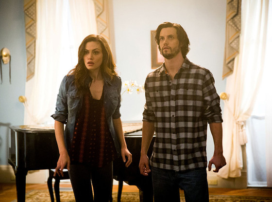 The Originals,  Phoebe Tonkin, Nathan Parsons