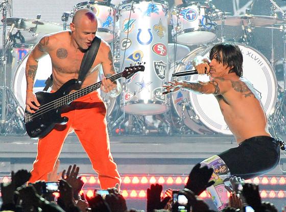 Red Hot Chili Peppers, Flea, Anthony Kiedis