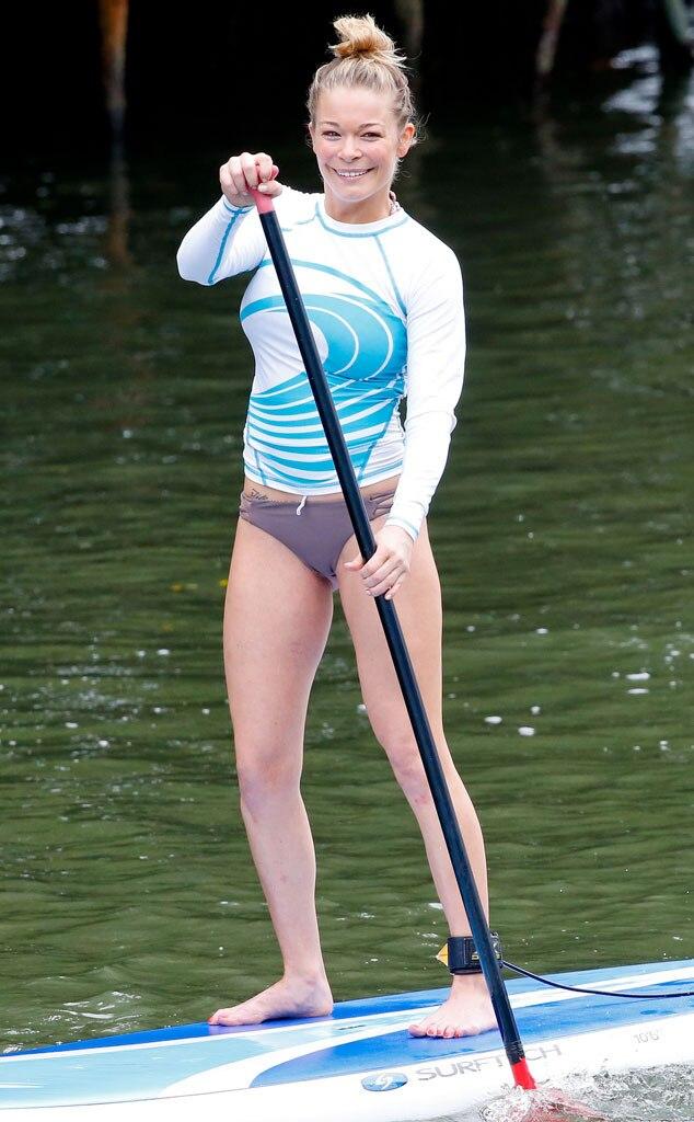 LeAnn Rimes, Paddleboard