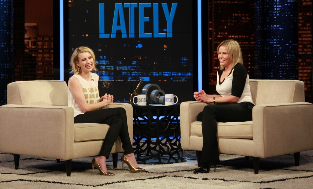 Emma Roberts, Chelsea Lately