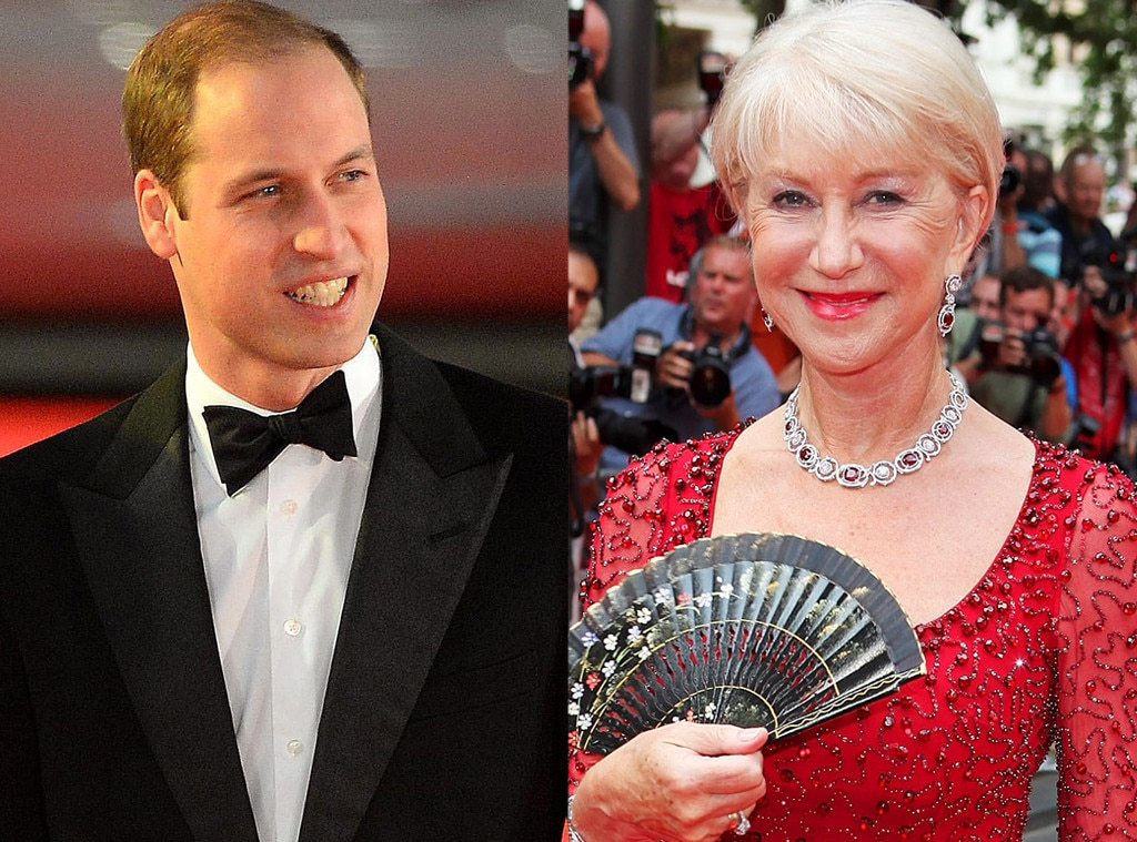 Prince William, Helen Mirren
