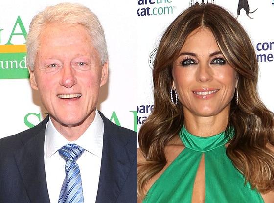 Bill Clinton, Elizabeth Hurley