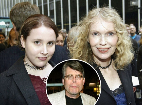 Dylan Farrow, Mia Farrow, Stephen King