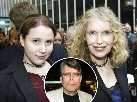 Dylan Farrow, Mia Farrow, Stephen King