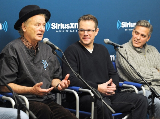 Bill Murray, Matt Damon, George Clooney